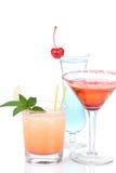 Blue margarita cocktail, Long island Stock Photography