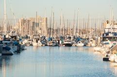 Blue Marina Royalty Free Stock Photo