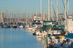 Blue Marina royalty free stock photography