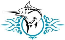 Blue marlin Stock Image