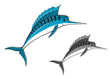 Blue marlin fish Stock Photo