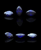 Blue  marquis. Benitoit. Sapphire Royalty Free Stock Image