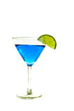 Blue martini Royalty Free Stock Images