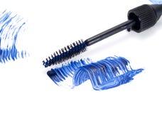 Blue Mascara stock image