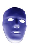 Blue mask Royalty Free Stock Image