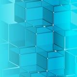 Blue mask of background Stock Photo