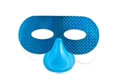 Blue mask Royalty Free Stock Image