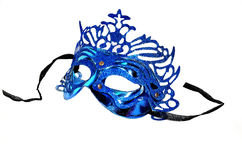 Blue mask Stock Images