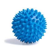 Blue massage ball Royalty Free Stock Photo
