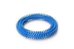 Blue massage ring. On white background Royalty Free Stock Image