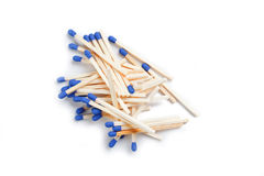 Blue matches Stock Photography