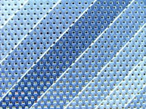 Blue material. With diagonal stripes royalty free stock photo