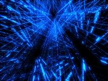 Blue matrix vector illustration