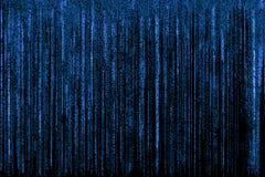 Blue matrix background Royalty Free Stock Photos