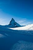 Blue matterhorn Royalty Free Stock Photography