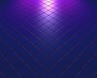 Blue and mauve fleeing mosaic with color effect Stock Photos