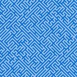 The blue maze Stock Photos