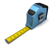 Blue Measuring tape Stock Images