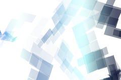 Blue Mechanical Tech Blocks Royalty Free Stock Photo