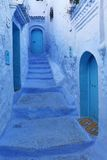 Blue medina of Chechaouen Royalty Free Stock Photos