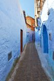 Blue medina of Chechaouen Royalty Free Stock Images