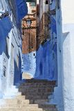 Blue medina of Chechaouen Royalty Free Stock Photo