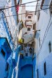 Blue medina of Chechaouen, Morocco Stock Image