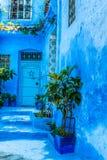 Blue medina of Chechaouen, Morocco Stock Photo