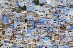 Blue medina of Chefchaouen city, Morocco Royalty Free Stock Photography