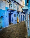 Blue Medina of Chefchaouen - Morocco. Blue Medina of Chefchaouen in Morocco Stock Photos