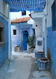 Blue medina of Chefchaouen, Morocco Stock Image