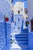 Blue medina Royalty Free Stock Image
