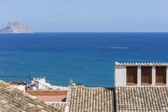 Blue Mediterranean, Spain, Alicante Stock Images