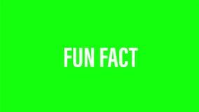 Blue megaphone - Fun fact. stock illustration.