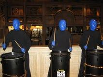 Blue Men Group Royalty Free Stock Photos