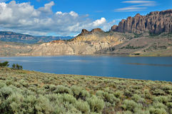 Blue Mesa Lake Stock Photos