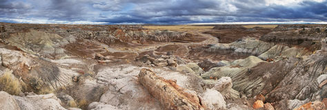 Blue Mesa, Petrified Forest National Park, Royalty Free Stock Photos