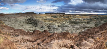 Blue Mesa, Petrified Forest National Park Royalty Free Stock Images