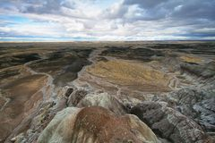 Blue Mesa, Petrified Forest National Park Stock Photography