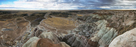 Blue Mesa, Petrified Forest National Park Stock Photo