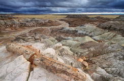 Blue Mesa, Petrified Forest National Park, Stock Image