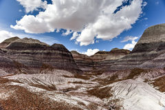 Blue Mesa - Petrified Forest National Park Royalty Free Stock Photo