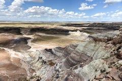 Blue Mesa - Petrified Forest National Park Stock Photos