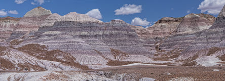 Blue Mesa At The Petrified Forest National Park Royalty Free Stock Photo