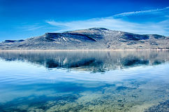 Blue mesa reservoir in gunnison national forest colorado Royalty Free Stock Images