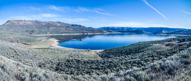 Blue mesa reservoir  gunnison national forest colorado Stock Images