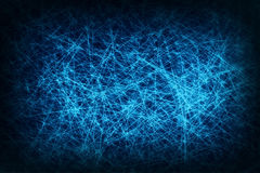 Blue mesh abstract background, network connection Stock Image