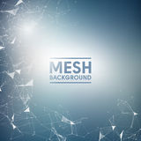 Blue Mesh Vector Background | EPS10 Design Stock Photography