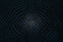 Blue  mesh on the water,abstract grid background, water surface, Royalty Free Stock Image