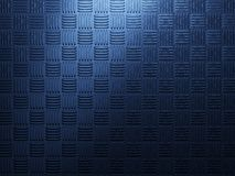 Blue metal background Royalty Free Stock Images